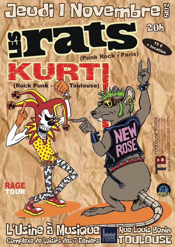 Les Rats @ Toulouse