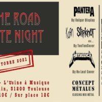 On The Road - MétalTributeNight // 3 Metal Bands-ConceptMetalus