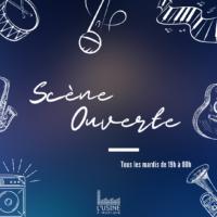 Scène ouverte de l'Usine à Musique - 28 sept 2021